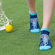 Girls Lacrosse Ankle Socks - Lax is Life