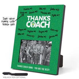Girls Lacrosse Photo Frame - Coach (Autograph)