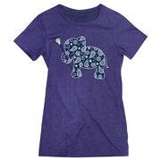 Girls Lacrosse Women's Everyday Tee - Lax Elephant