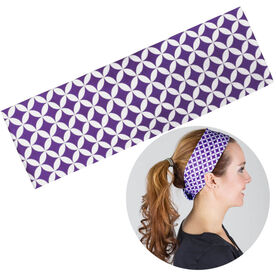 RunTechnology Tempo Performance Headband - Clara Purple