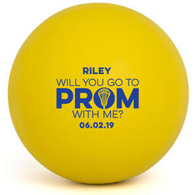 Girls Lacrosse Ball - Promposal