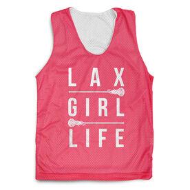 Girls Lacrosse Racerback Pinnie - Lax Girl Life
