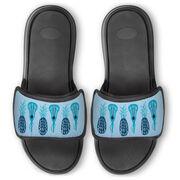 Girls Lacrosse Repwell® Slide Sandals - Pineapples