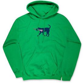 Lacrosse Standard Sweatshirt LuLa The LAX Dog(Blue)