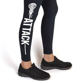 Girls Lacrosse Leggings - Attack