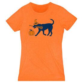 Girls Lacrosse Women's Everyday Tee - Lula Witch Dog