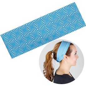 RunTechnology Tempo Performance Headband - Alison Blue