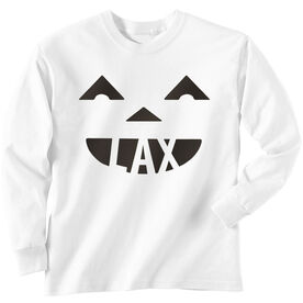 Lacrosse Long Sleeve T-Shirt - Pumpkin Lax