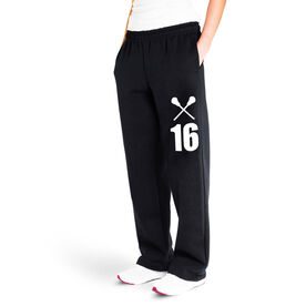 Lacrosse Fleece Sweatpants - Number