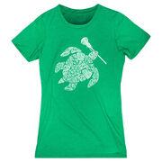 Girls Lacrosse Women's Everyday Tee - Lax Turtle
