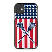 Girls Lacrosse iPhone® Case - USA Lax Girl