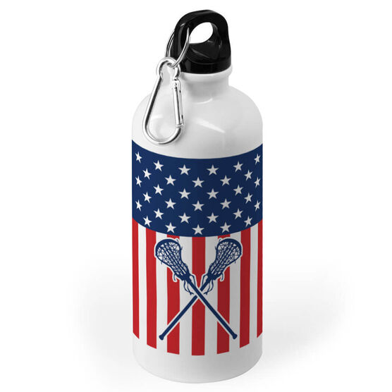 a33624ad779 Girls Lacrosse 20 oz. Stainless Steel Water Bottle - USA Lax Girl ...