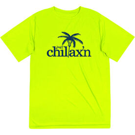 Lacrosse Short Sleeve Performance Tee - Just Chillax'n