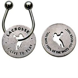 Lacrosse Token Key Chain
