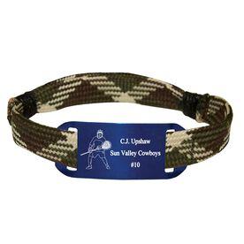 Personalized Lacrosse Shooting String Bracelet Goalie Adjustable Shooter Bracelet