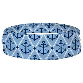 Girls Lacrosse Multifunctional Headwear - Lacrosse Anchor Argyle RokBAND