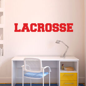 Lacrosse Removable ChalkTalkGraphix Wall Decal - Block Letters