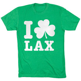 Lacrosse Short Sleeve T-Shirt - I Shamrock Lax