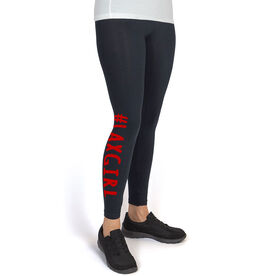 Girls Lacrosse Leggings #LAXGIRL