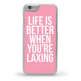 Girls Lacrosse iPhone® Case - Life Is Better When You're Laxing