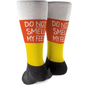 Printed Mid-Calf Socks - Trick or Treat