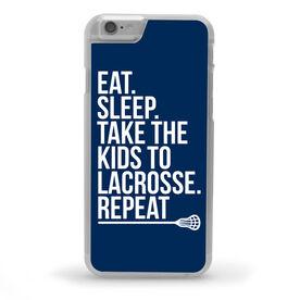 Lacrosse iPhone® Case - Eat Sleep Take The Kids to Lacrosse