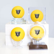 Personalized Your Logo Here Lacrosse Ball (Yellow Ball)