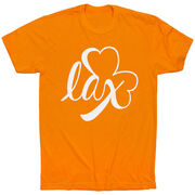 Girls Lacrosse Short Sleeve T-Shirt - Lax Shamrock