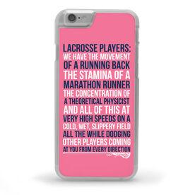 Girls Lacrosse iPhone® Case - Lacrosse Players