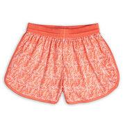 Jamboree Girls Lacrosse Shorts - Peach