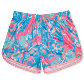 Island Flower Lacrosse Shorts