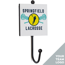 Girls Lacrosse Medal Hook - Your Logo