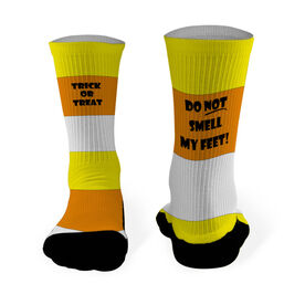Printed Mid Calf Socks Trick or Treat
