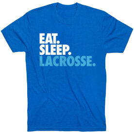Lacrosse Short Sleeve T-Shirt - Eat. Sleep. Lacrosse.