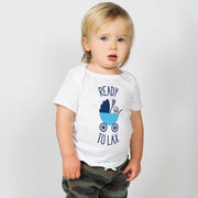 Lacrosse Baby T-Shirt - Ready To Lax