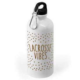 Girls Lacrosse 20 oz. Stainless Steel Water Bottle - Lacrosse Vibes