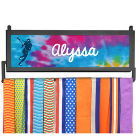 AthletesWALL Medal Display - Personalized Player With Tie-Dye