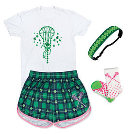 St. Patrick's Day Girls Lacrosse Outfit