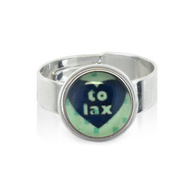 Heart To Lax SportSNAPS Ring