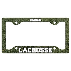 Custom Lacrosse Team License Plate Holders