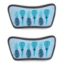Girls Lacrosse Repwell™ Sandal Straps - Pineapples
