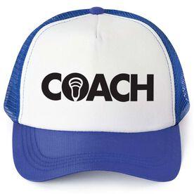 Lacrosse Trucker Hat - Coach