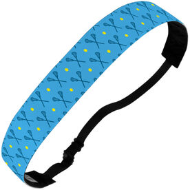 Girls Lacrosse Julibands No-Slip Headbands - Girls Lacrosse Pattern