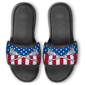 Girls Lacrosse Repwell™ Slide Sandals - USA Lacrosse