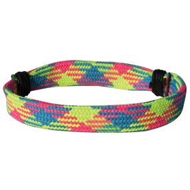 Lacrosse Shooting String Bracelet Blue Green Pink Argyle Adjustable Shooter Bracelet