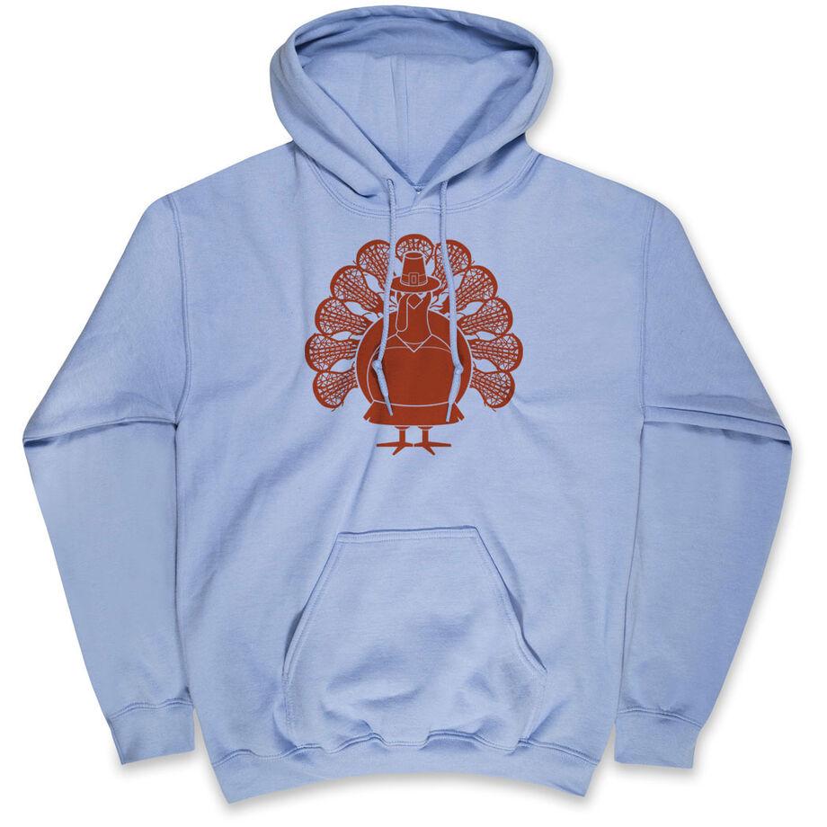 Girls Lacrosse Hooded Sweatshirt - Turkey Player