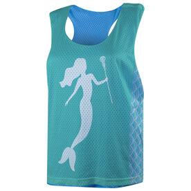 Girls Lacrosse Racerback Pinnie - Mermaid