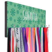 Lacrosse Hook Board Lacrosse Flower Power with Your Name