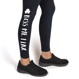 Lacrosse Leggings Kiss Me I Lax