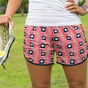 American Heart Lacrosse Shorts
